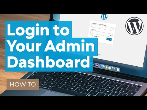 How to Login to Your WordPress Site Admin Dashboard - 동영상