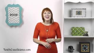 Poop in Baby Sign Language, ASL