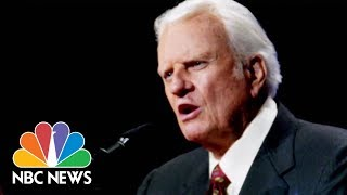 Billy Graham's Funeral Procession Held In Small Mountain Towns In North Carolina | NBC News