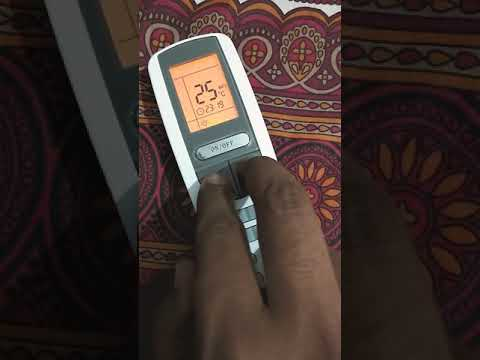 How to LOCK/UNLOCK Gree AC Remote