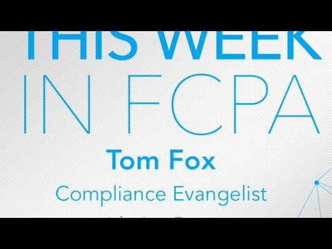 This Week in FCPA-Episode 14 the Wolf of Wall Street Edition
