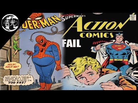Las portadas más estúpidas en los cómics (DC Comics y Marvel)