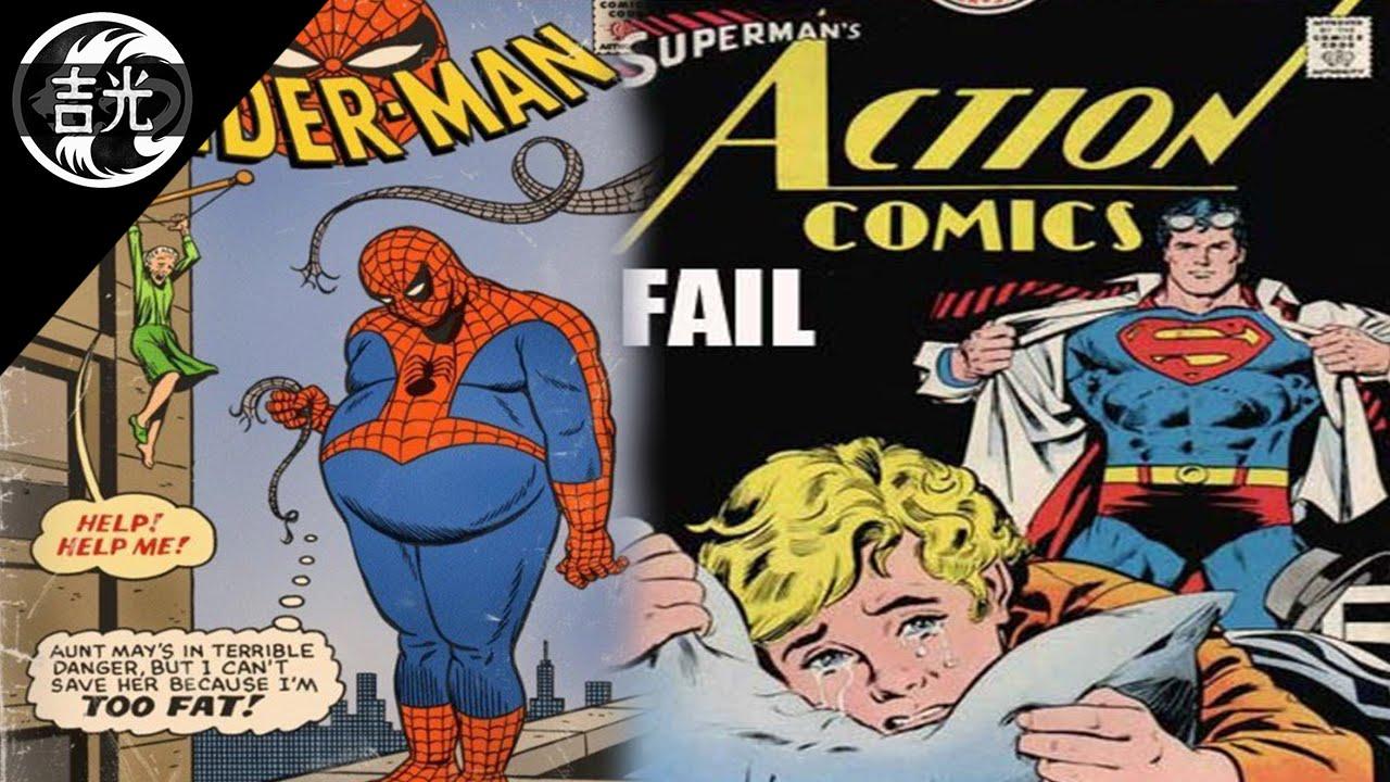 Las Portadas Más Estúpidas En Los Cómics (DC Comics Y
