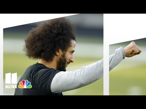 Colin Kaepernick shows off skills to NFL scouts, media in metro Atlanta