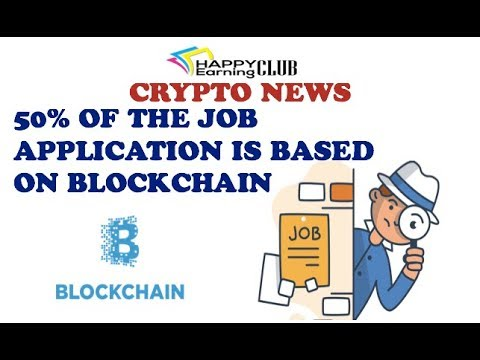 Cryptonews 50% of Total Jobs are based on Blockchain