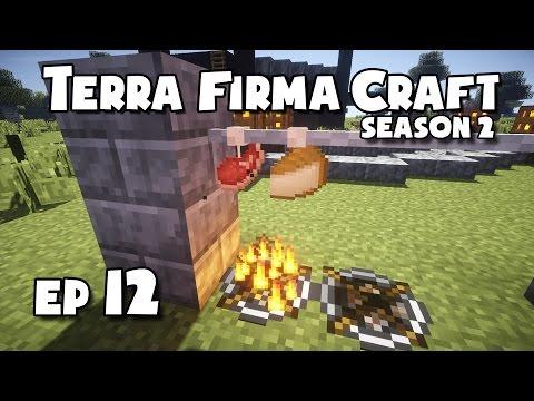 TerraFirmaCraft - S2 #12 - Smoking, Pickling + Making Cheese