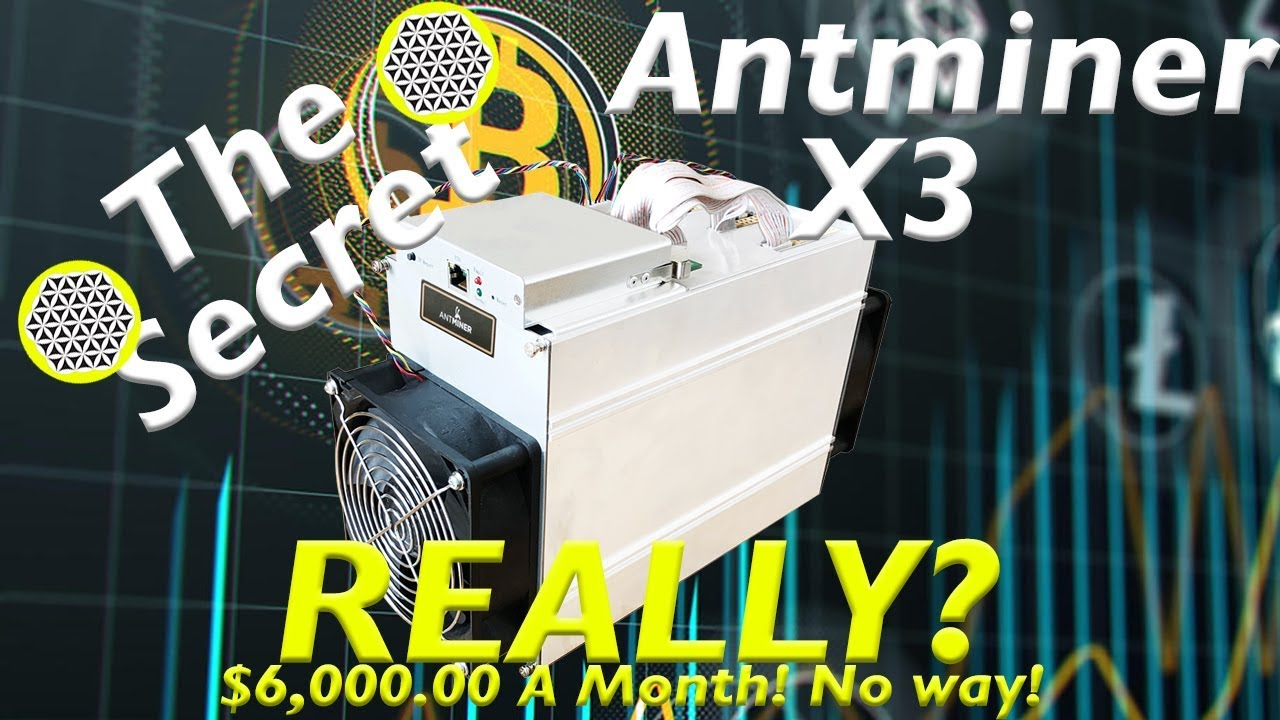 antminer x3 profitability bitmain batch 1 new asic miner hardware  cryptonight scrypt - $6,000 month