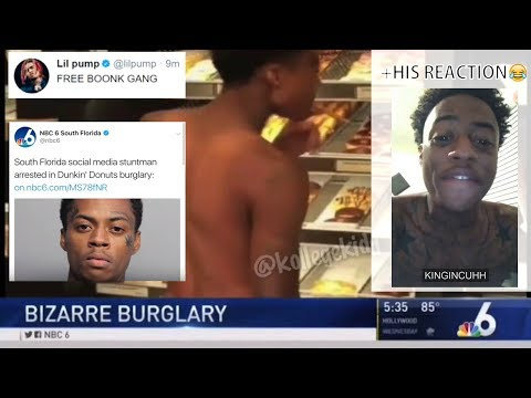 Boonk Arrested For Robbing Dunkin