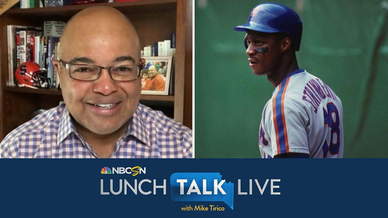 Darryl Strawberry remembers winning 1986 World Series with Mets | Lunch Talk Live | NBC Sports
