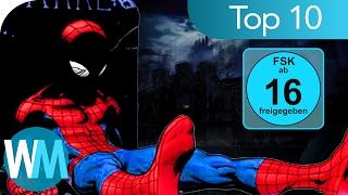 Top 10 der SCHLIMMSTEN Superhelden - TODE