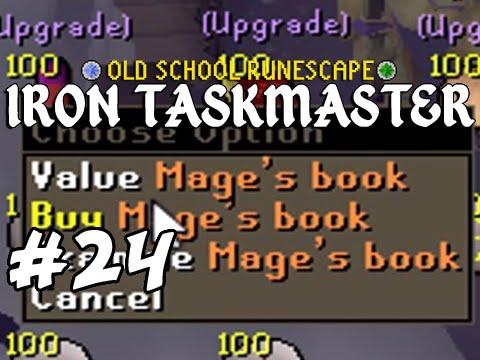 Attempting Master Clue - Old School RuneScape Ironman - Iron Taskmaster Episode #24