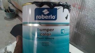 Обзор Бамперной краски Roberlo!