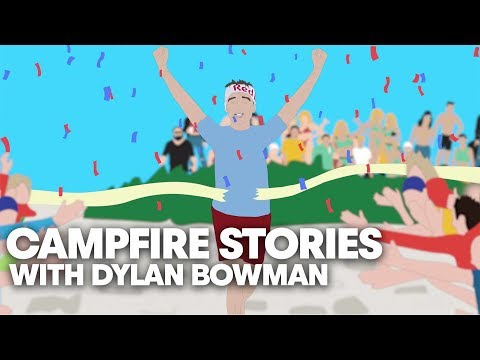 Ultrarunner Survives Dog Attack to Win 100-Mile Race | Campfire Stories: Dylan Bowman
