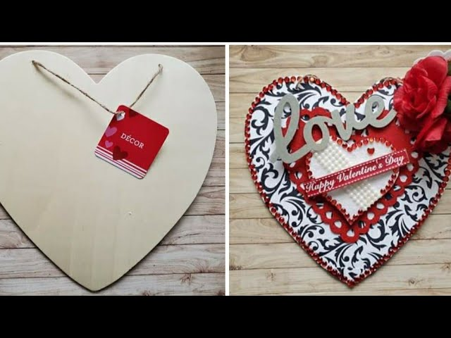 ❤DIY Valentine's Dollar Tree Heart | Mindless Crafting