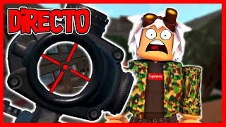 DIRECT 🔴 ? TESTING THE NEW PHANTOM FORCES in ROBLOX