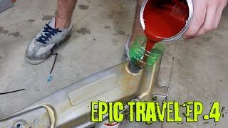 Epic travel ciao edition - EP.4 Trattamento serbatoio arrugginito
