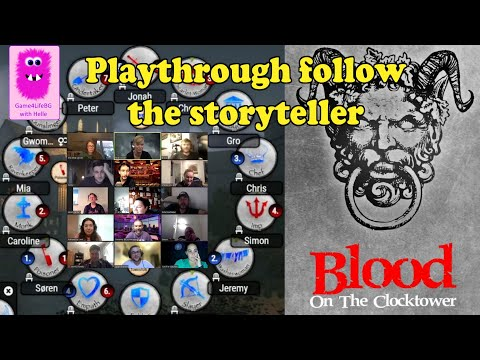 Blood on the Clocktower, Trouble Brewing, Follow the storyteller in this very close game