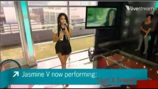 Jasmine Villegas Performs Just A Friend LIVE on What's Trending 09/20/2011