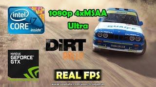DiRT Rally - GTX 750 Ti 2GB - i7 920 - 1080p Ultra 4xMSAA