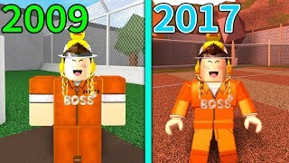 HOW ROBLOX JAILBREAK USED TO LOOK ..