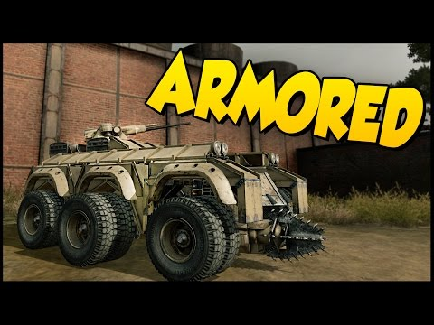 Crossout ➤ ARMORED! Armored Car/Armored Fighting Vehicle-Like Thing! [Crossout Gameplay]