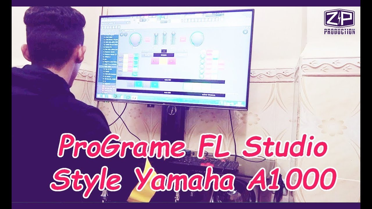program yamaha a1000 rai fl studio