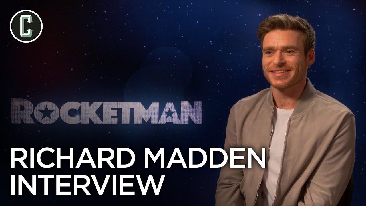 Richard Madden on Rocketman and Bodyguard Season 2 - YouTube