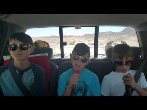 Harrison's carpool karaoke