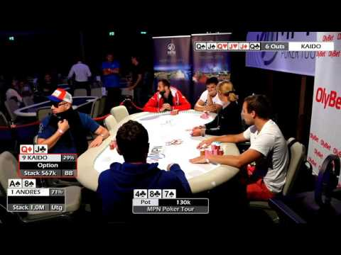 MPN Poker Tour Tallinn Final Table