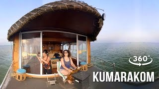 Experience Houseboat cruise @ Kumarakom | 360° video