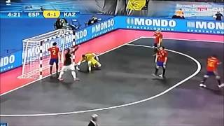 Все голы Казахстана на Евро-2016 Полуфинал Казахстан-Испания 3:5