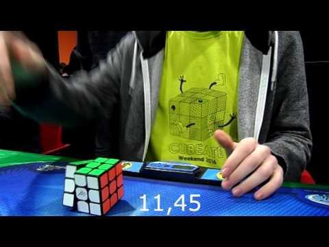 Cubo de Rubik - 11,48 Media de 5 [Murcia 2016]