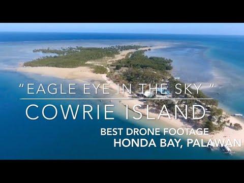 "Cowrie Island, Honda Bay, Puerto Princesa, Palawan, Phil. Drone Footage: ""Eagle Eye In The Sky"