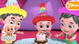 Happy Birthday Song | Let's Celebrate my Birthday! |+More nursery rhymes & baby songs | Kids Cartoon