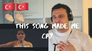 Italian Reaction to Turkish song  #SUSAMAM  ( Emotional song ) ( The best song in the world )