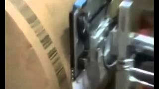 печать и нанесение этикетки на рулон бумаги(, 2015-11-03T14:52:14.000Z)