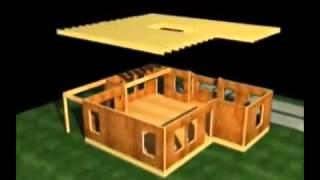 Строительство дома из СИП панелей (видео)(В видеоролике наглядно показаны этапы строительства дома из СИП панелей., 2015-09-11T09:06:08.000Z)