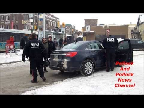 Woman Arrested At Gunpoint By Winnipeg Police January 10, 2014