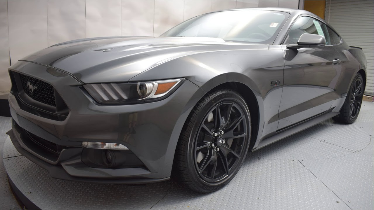 2017 magnetic ford mustang 2d coupe t6252 youtube. Black Bedroom Furniture Sets. Home Design Ideas