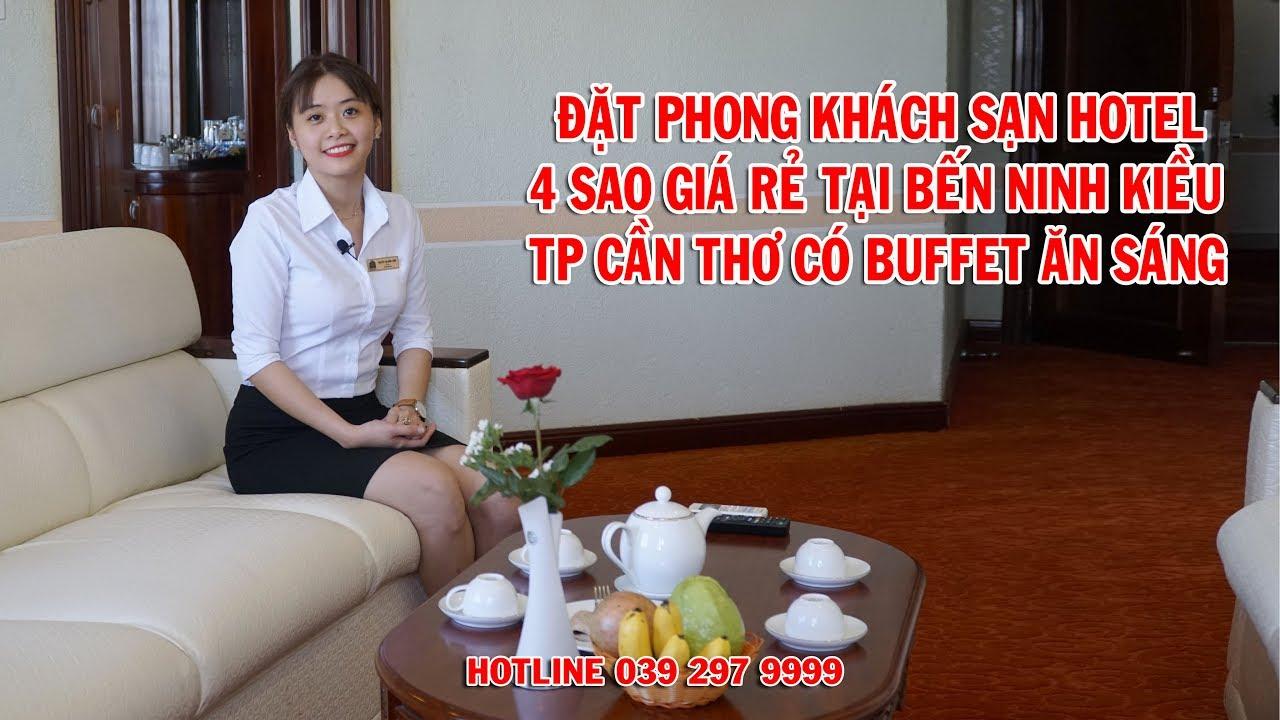 Hotel Đặt Phòng Khách Sạn Giá Rẻ 4 Sao Tại Bến Ninh Kiều Cần Thơ  Có Ăn Sáng Buffet – Vietnam Tours