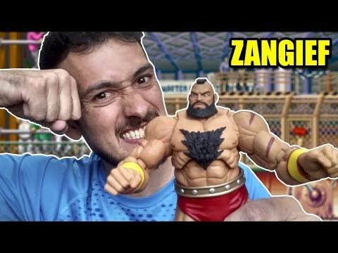 ZANGIEF STREET FIGHTER 5 STORM COLLECTIBLES - Review Unboxing #153