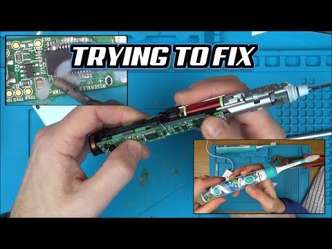 Trying to FIX: Philips Sonicare Kids Toothbrush HX6320