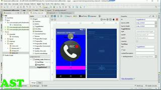 How To Develop Automatic Call Recorder App In Android Step by Step HINDI+ENGLISH screenshot 3