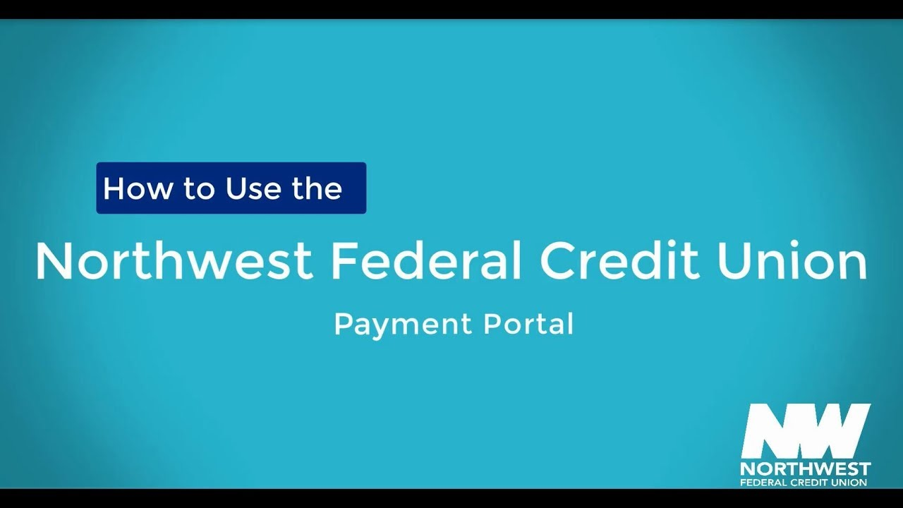Northwest Federal Credit Union Login >> Northwest Federal S Payment Portal Youtube