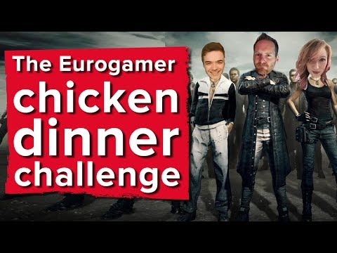 Chris, Aoife and Ian's chicken dinner challenge - PlayerUnknown's Battlegrounds gameplay