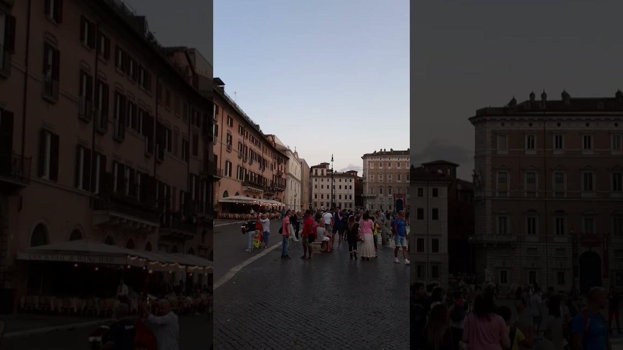 My beautiful city 4 Piazza Navona #shorts