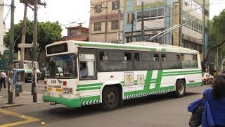 Video MEXICO CITY RUSH HOURS 24 7 TROLLEYS AND BUSES APRIL 2015 download MP3, 3GP, MP4, WEBM, AVI, FLV Juli 2018