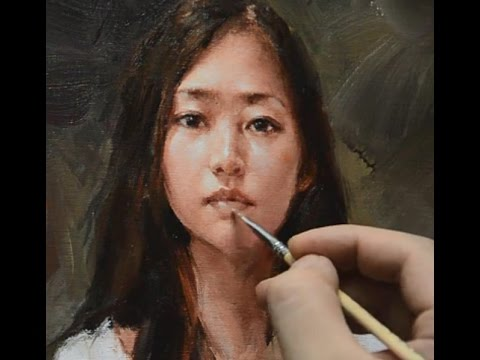 Oil Painting Tutorial by ZHU KAI MASTER ARTIST