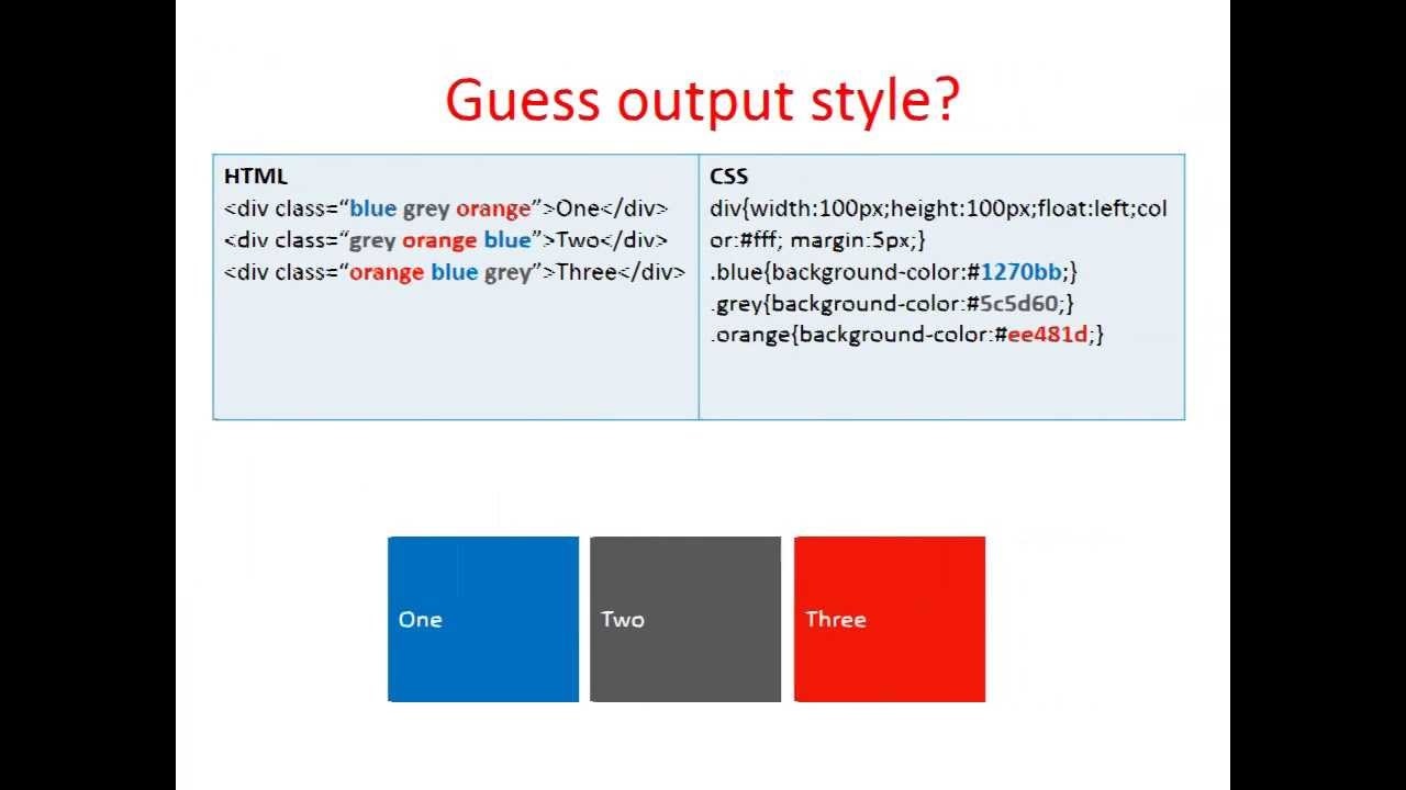 2 background images in one div css - About Css With Multiple Classes Styles