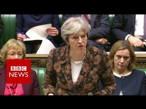 Highly likely Russia behind spy attack, says Theresa May - BBC News